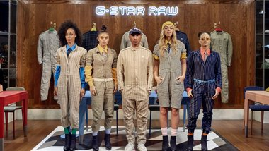 G-STAR RAW携手Pharrell Williams推出G-STAR RAW SUIT系列