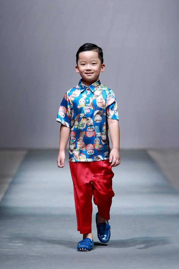 """""""WONDER BABY 印巷宝贝""""2014[上海国际儿童时装周]"""