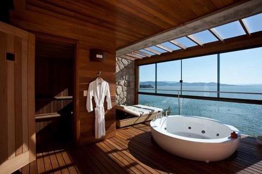 如果浴室长这样 谁还留在卧室?图片