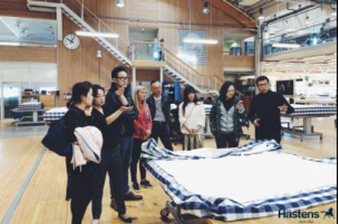 海丝腾瑞典工厂探访之旅回顾:一场床具的饕餮盛宴