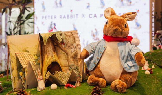 英国暖心治愈的比得兔快闪咖啡店空降魔都,为2019圣诞季增添寒冬里的萌趣甜蜜