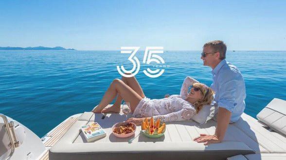 亚诺LEADER系列35岁啦!盘点LEADER动力艇那些经典的船型!